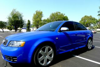 2005 Audi S4 4.  2l V8 Quattro - Limited Edition Nogaro Blue photo