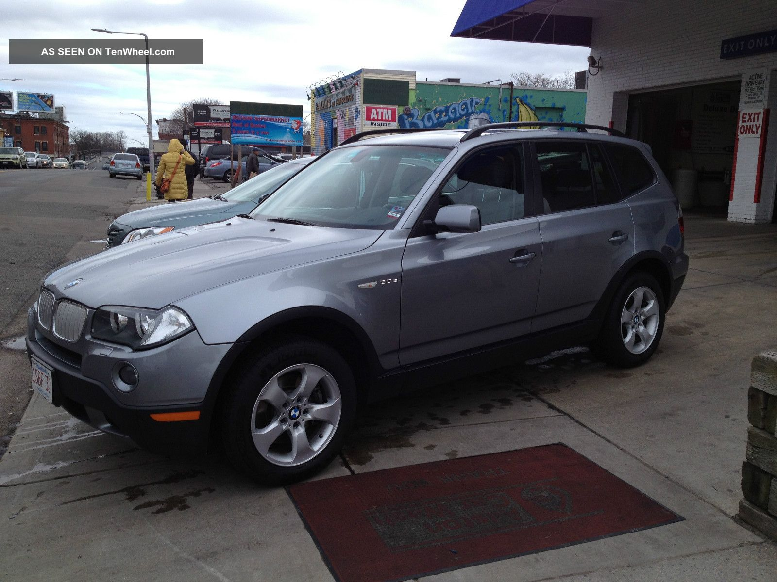 2008 Bmw X3 3.  0si Sport Utility 4 - Door 3.  0l X3 photo