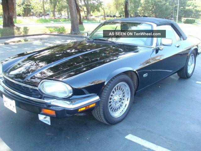 1992 Jaguar Xjs Base Convertible 2 - Door 5.  3l XJS photo