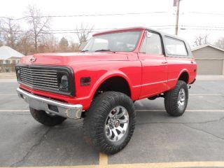 1972 K5 Chevy Blazer Rust   Riding High
