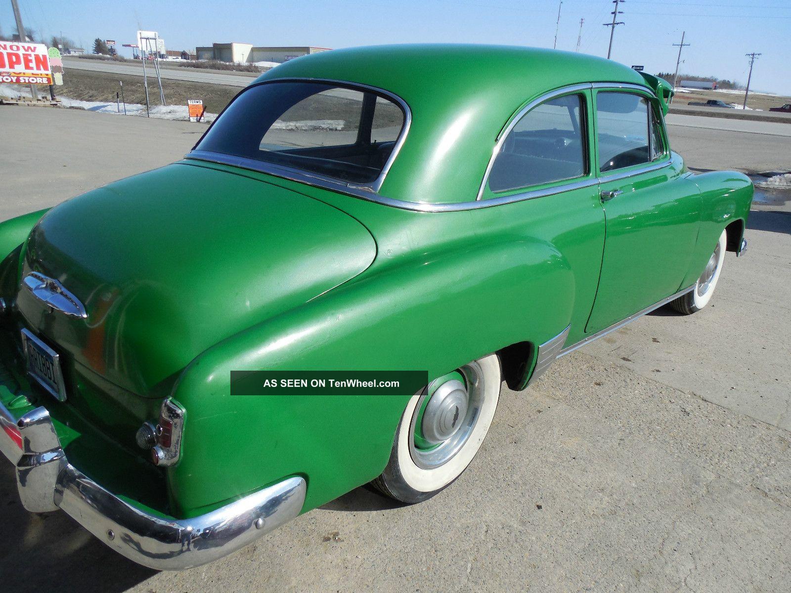 1951 chevrolet two door sedan for 1951 chevy 2 door coupe