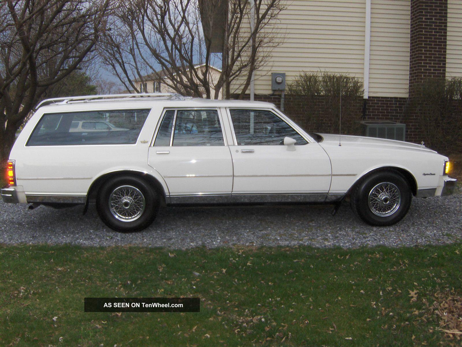 1985 chevrolet caprice classic wagon 4 door 5 0l tenwheel