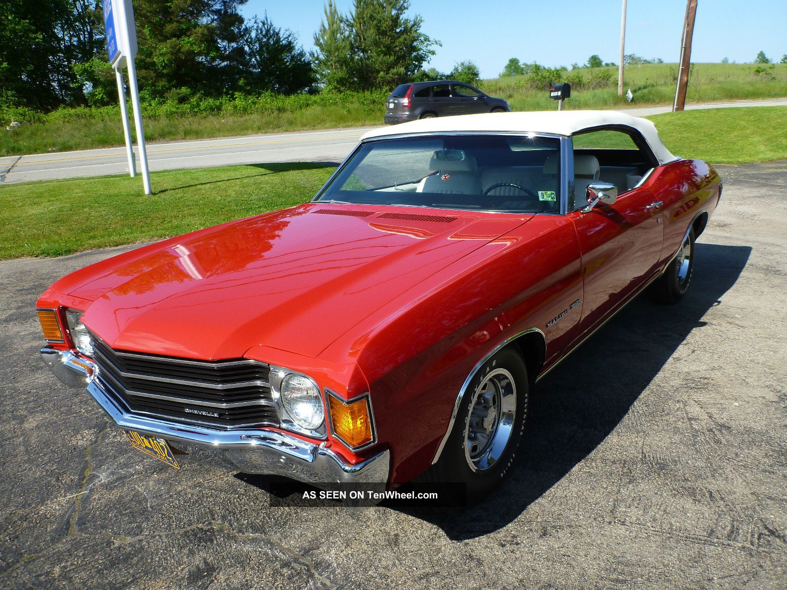 1972 Chevrolet Chevelle Malibu Convertible Frame Off Resto Numbers Matching