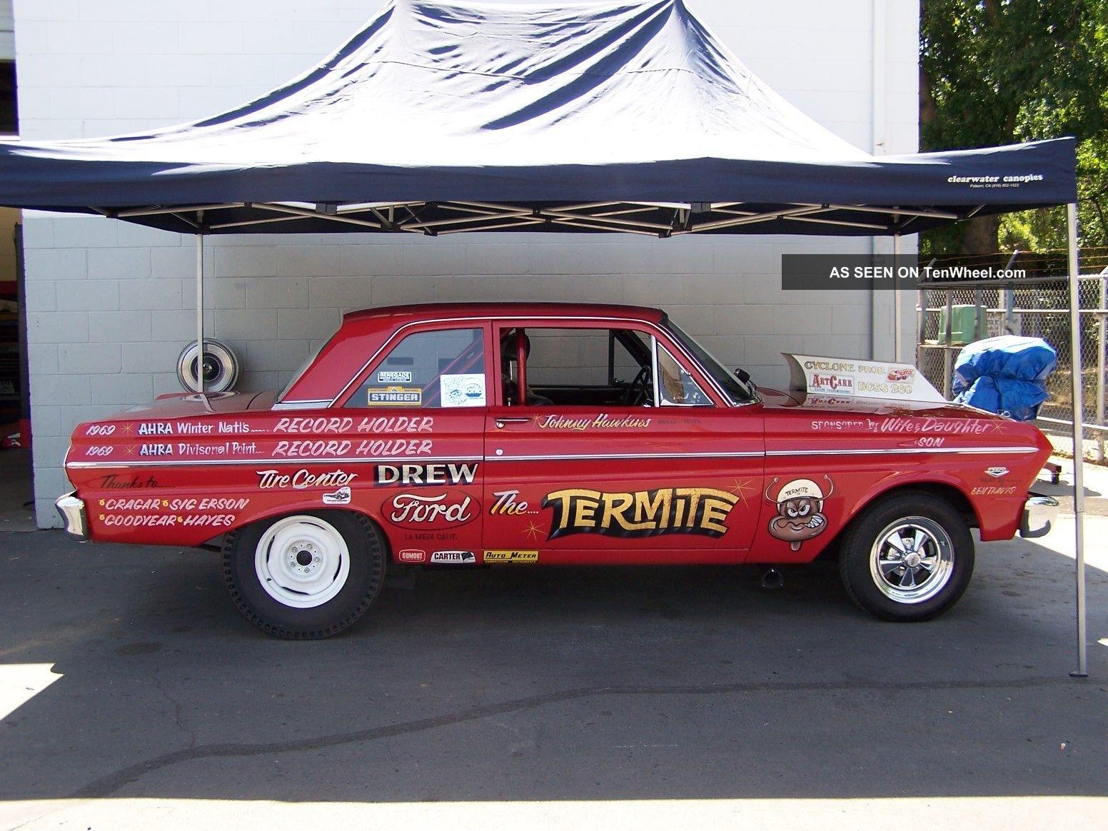 Cars Trucks Ford Falcon Web Museum 1964 Ranchero For Sale Vintage Drag Car