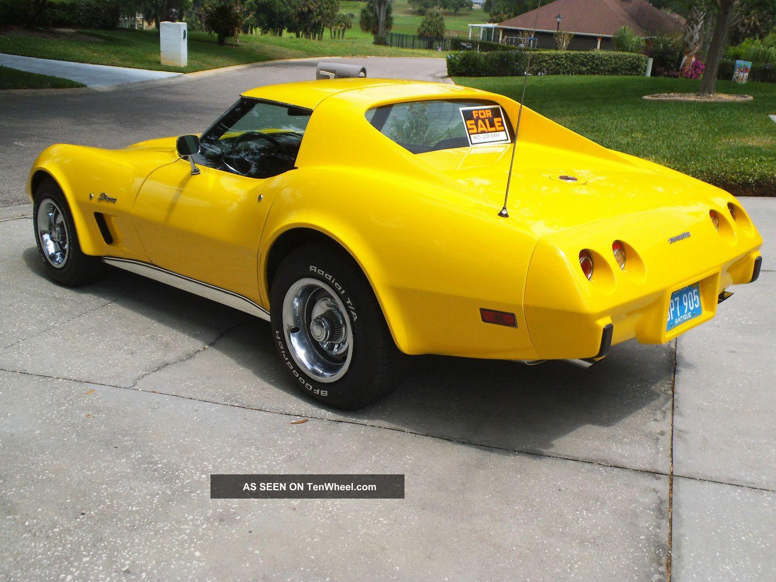 1976 chevrolet corvette stingray coupe 2 door 5 7l corvette photo 1. Cars Review. Best American Auto & Cars Review