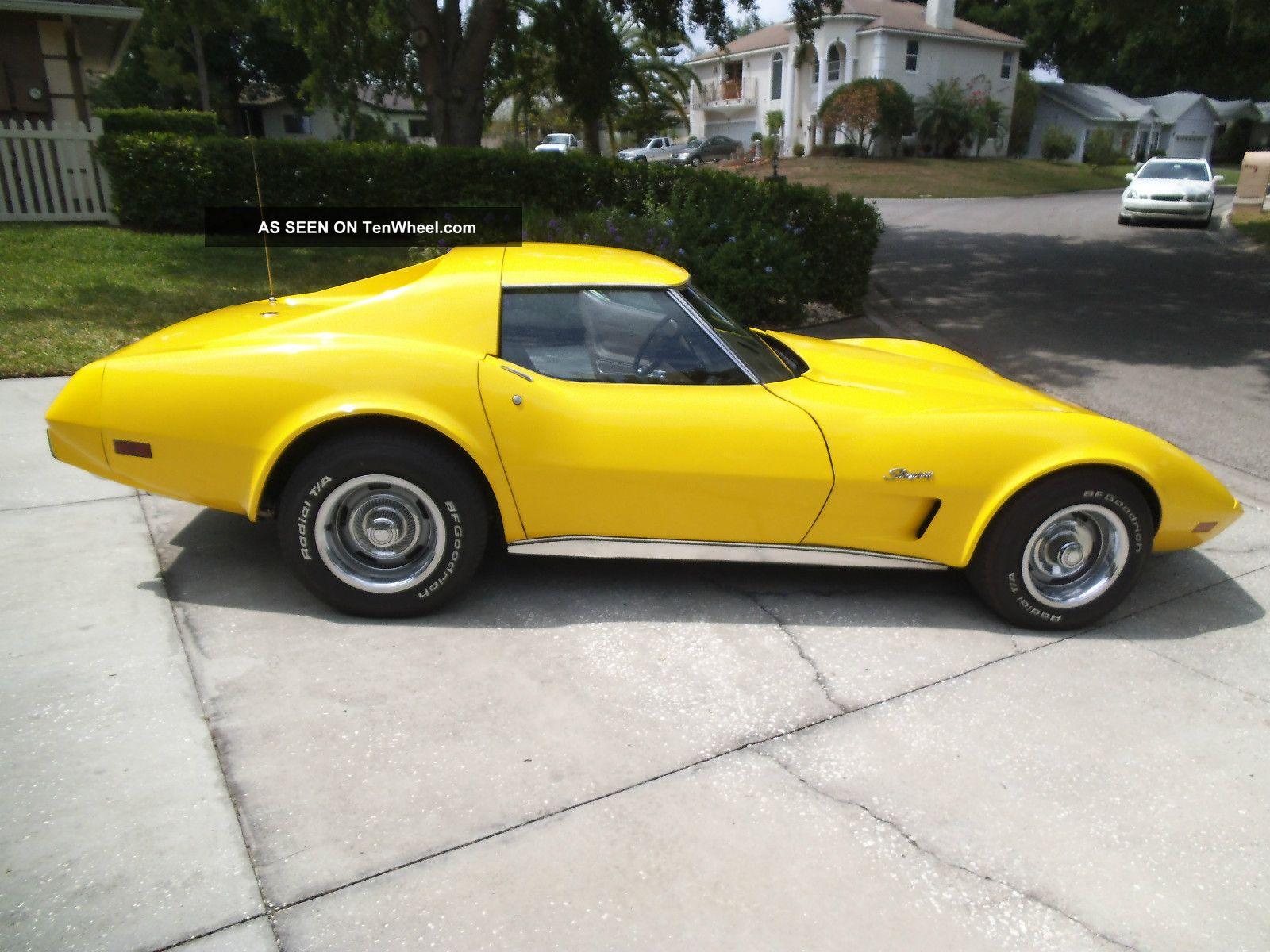 1976 chevrolet corvette stingray coupe 2 door 5 7l corvette photo 2. Cars Review. Best American Auto & Cars Review