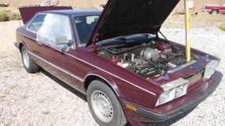 1985 Maserati Biturbo Base Coupe 2 - Door 2.  5l photo