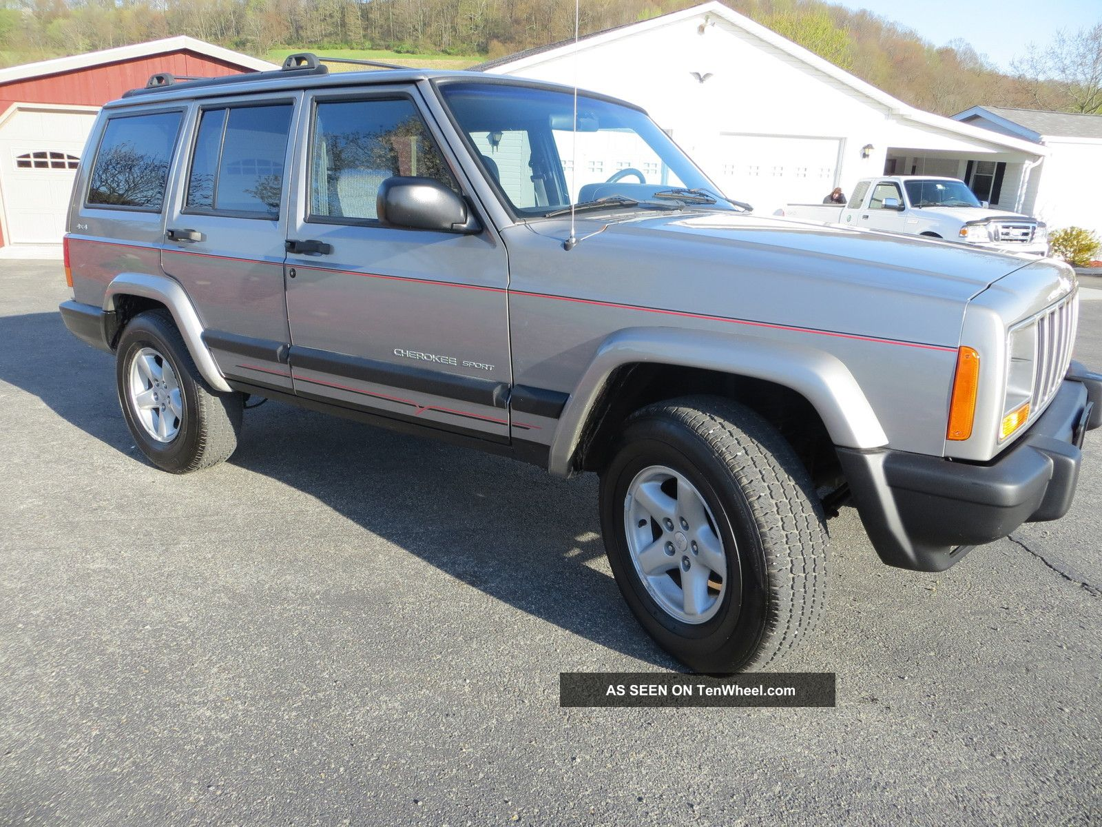 2000 jeep cherokee sport utility 4x4 loaded service classic suv. Cars Review. Best American Auto & Cars Review