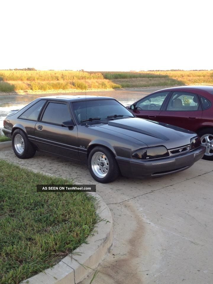 Ford Mustang 5.0 Hatchback Hatchback Fox Body Mustang