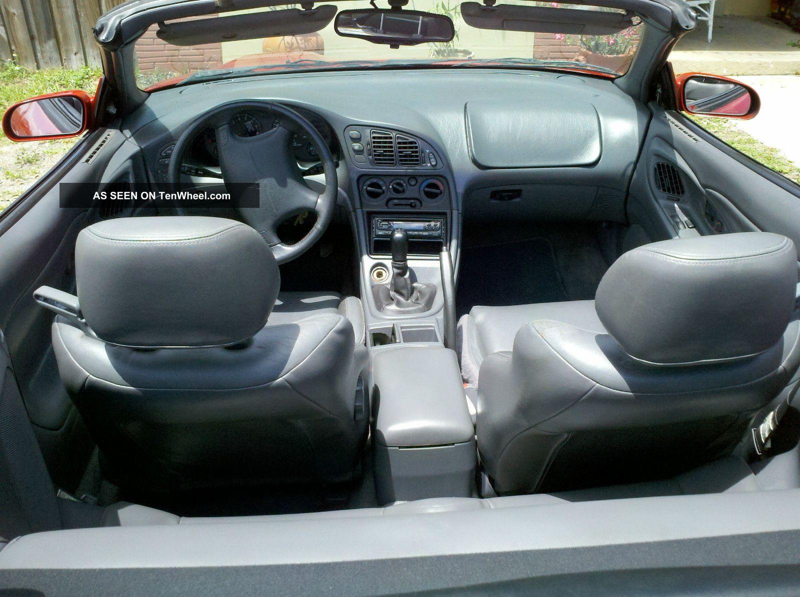 1996 Mitsubishi Eclipse Spyder Gst Convertible 2 Door 2 0l