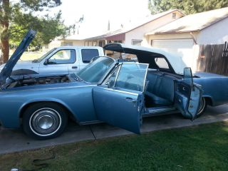 1963 Lincoln Continental Convertible photo