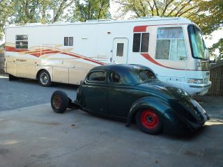 1936 Ford Coupe Rat Street Rod Project photo