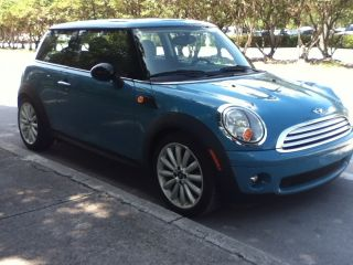 Mini Cooper Base Hatchback 2 - Door 1.  6 L Oxygen Blue. .  2008 photo