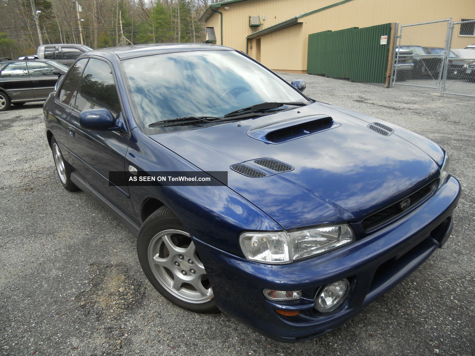 2000 subaru impreza rs coupe 2 door 2 5l. Black Bedroom Furniture Sets. Home Design Ideas