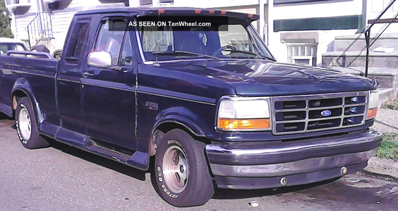 1995 ford f 150 xlt extended cab pickup 2 door 5 8l. Black Bedroom Furniture Sets. Home Design Ideas