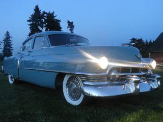 1950 Cadillac Series 61 Auto 4 Door Sedan Classic Rust photo