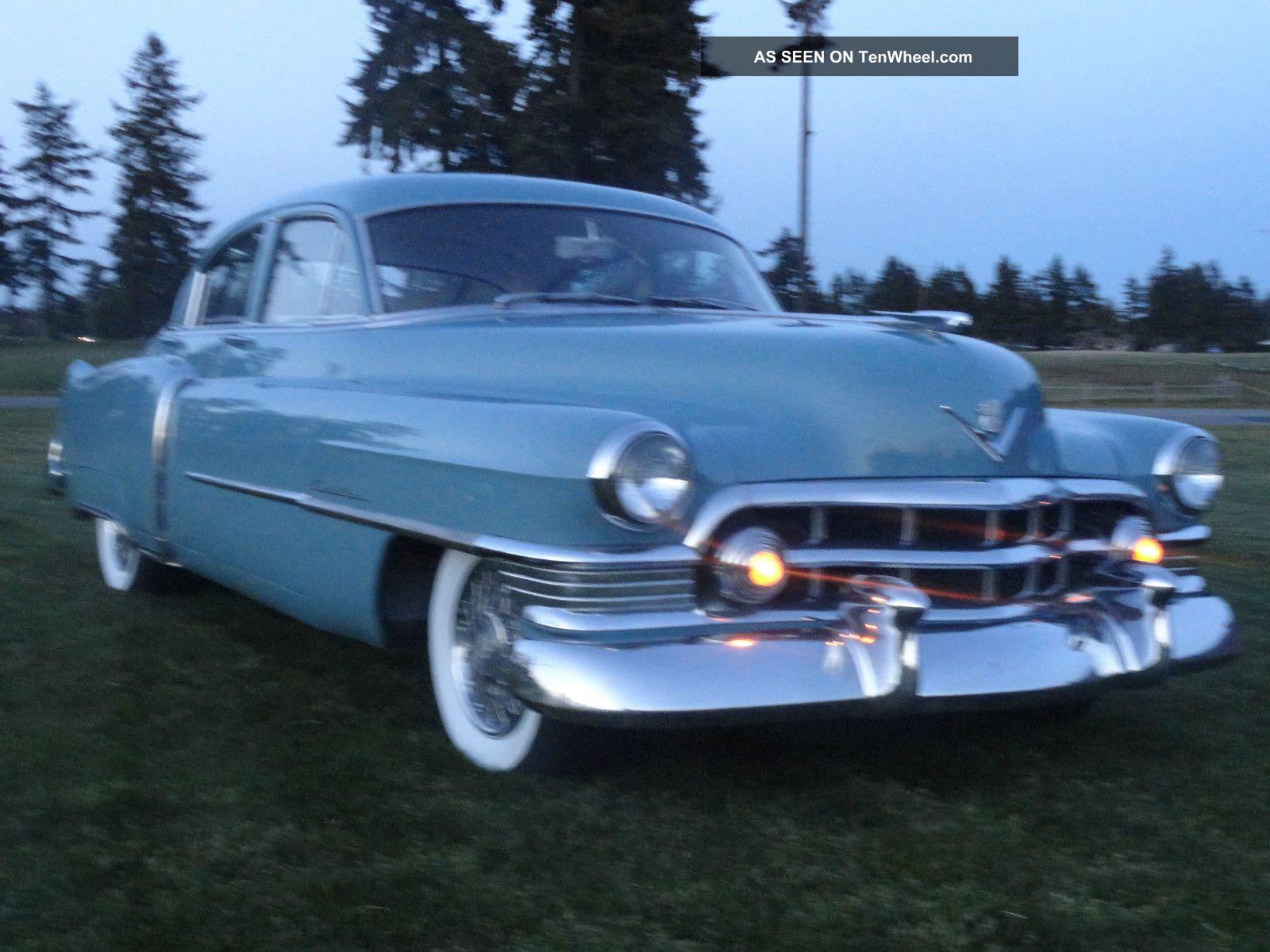 1950 Cadillac Series 61 Auto 4 Door Sedan Classic Rust