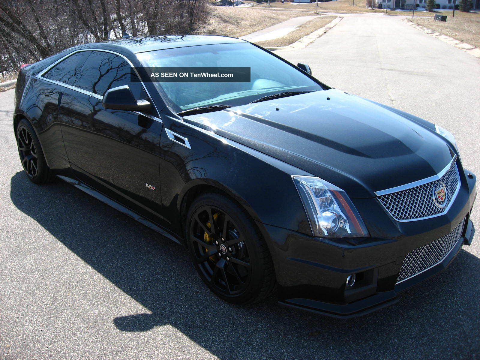 2011 cadillac cts v ctsv coupe black diamond 556hp 6 2 v8 auto black. Black Bedroom Furniture Sets. Home Design Ideas