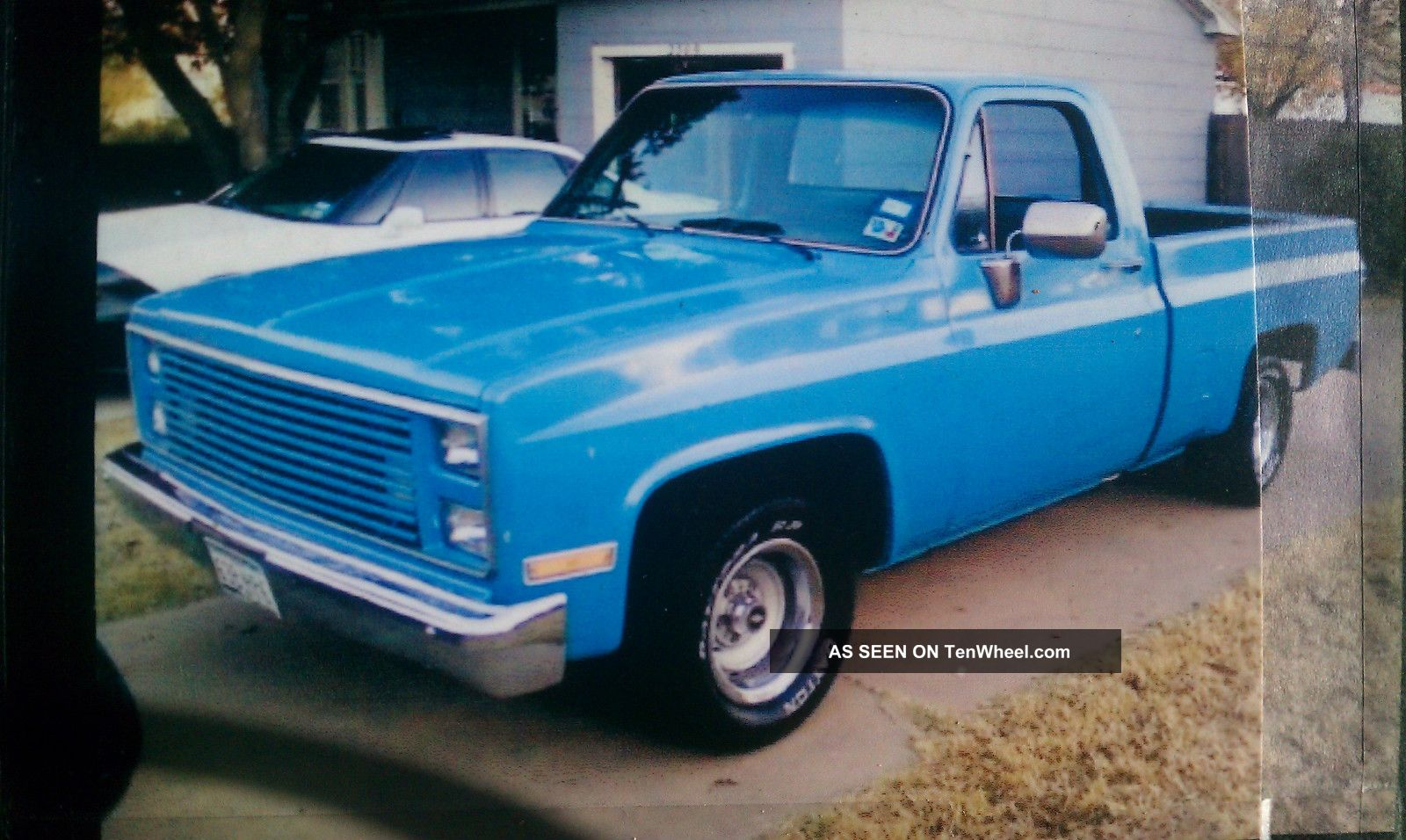 1985 Blue Chevy Shortwide,  High Performance Engine,  Good Body Condition C-10 photo