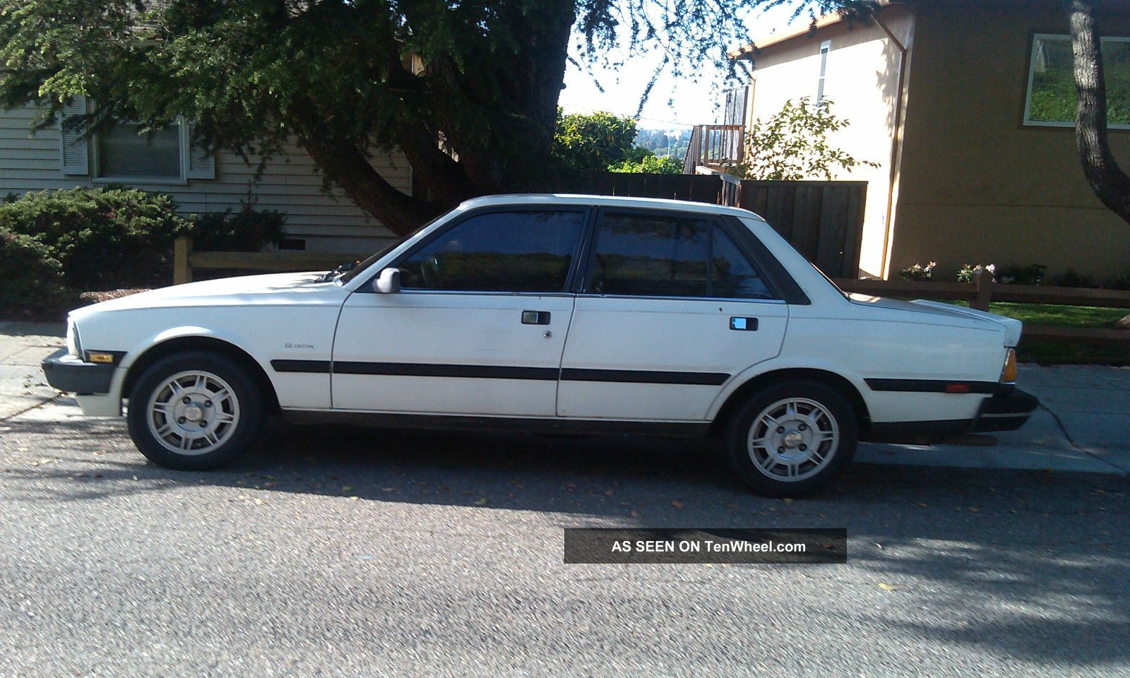 rare 1986 peugeot 505 s turbo 2 2l sport sedan rblt engine runs drives well. Black Bedroom Furniture Sets. Home Design Ideas