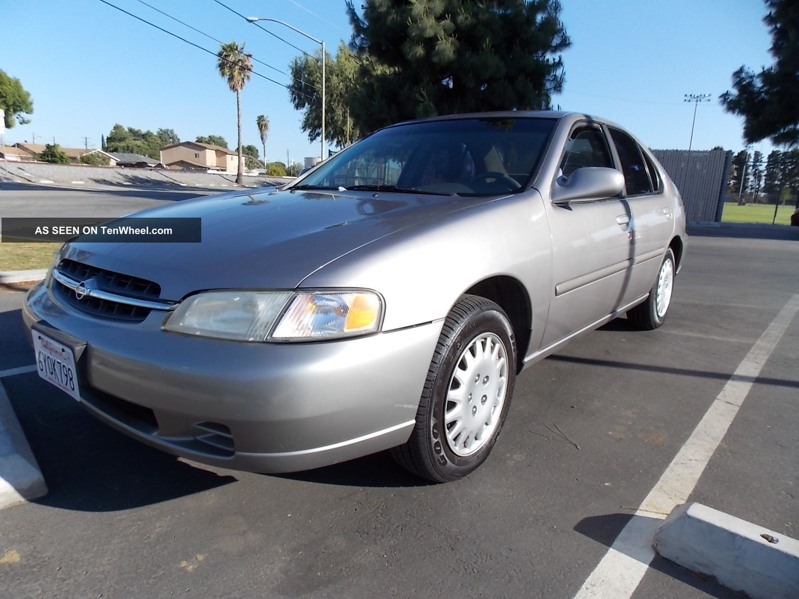 1999 nissan altima gxe 4cyl 2 4 auto 100k mi calif car. Black Bedroom Furniture Sets. Home Design Ideas