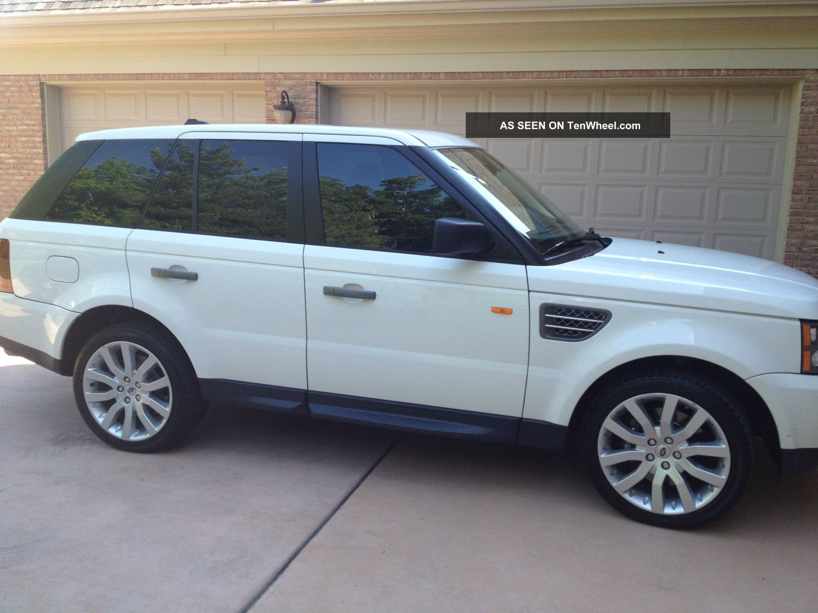 2008 Land Rover Range Rover Sport Supercharged Sport