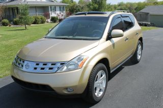 2003 Nissan Murano Sl Awd,  Gold,  Loaded photo