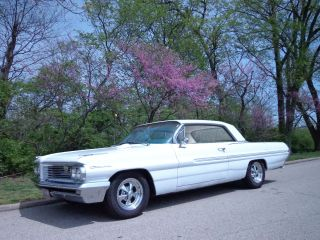 1962 Catalina Is Smooth Right & Tight.  2 Door Sport Coupe Street Rod. photo