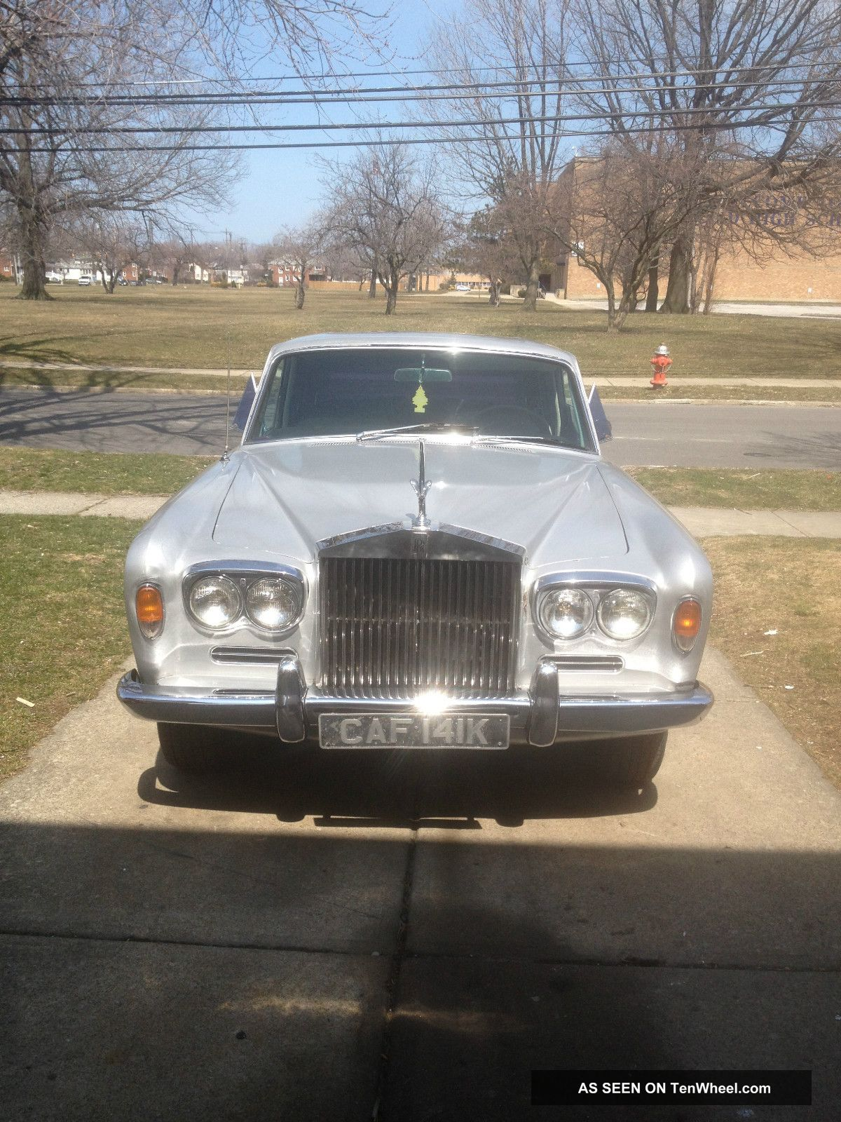 Classic Classy 1967 Rolls Royce Silver Shadow Runs Needs Tlc Priced To Sell Silver Shadow photo