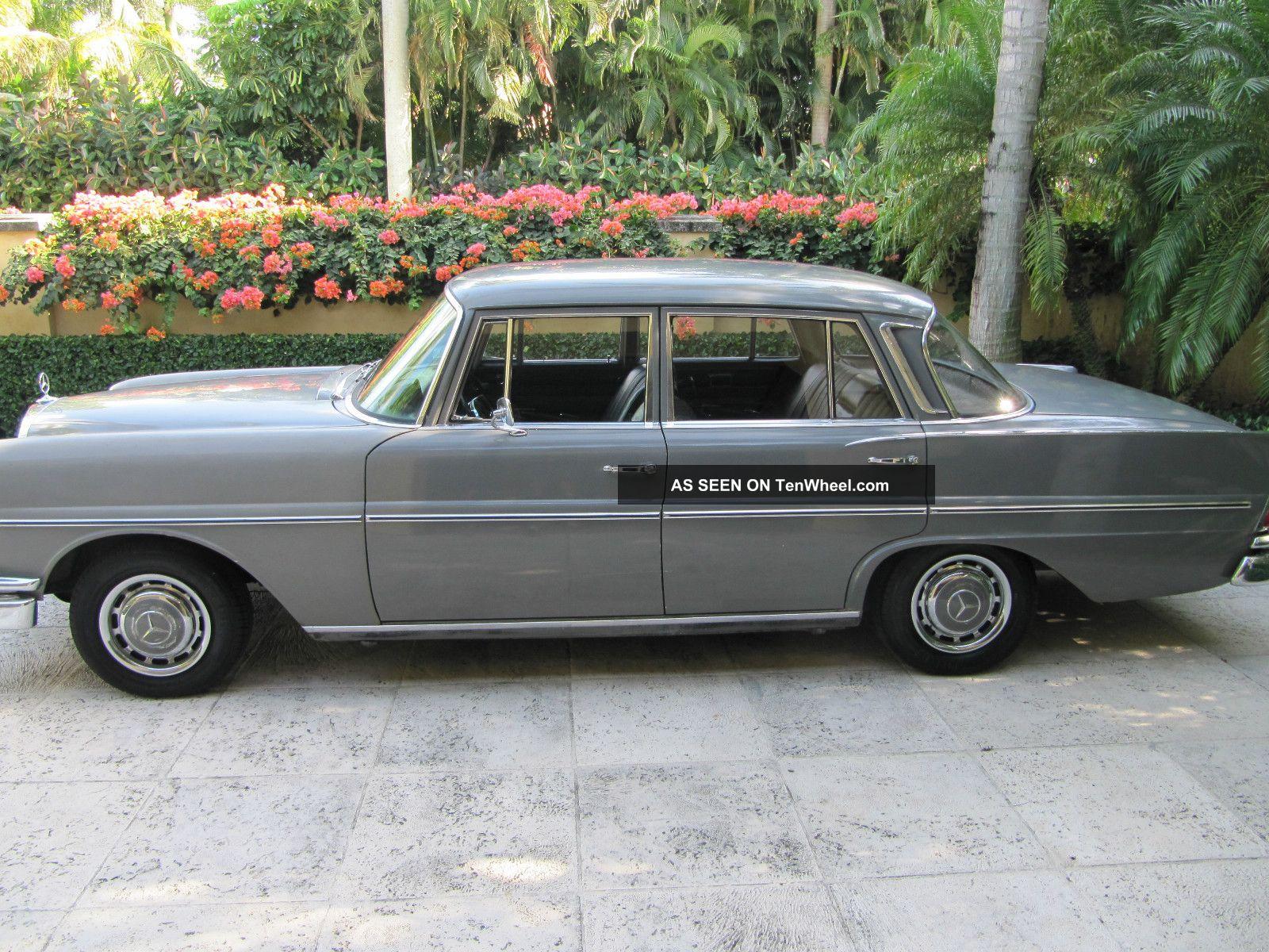 1967 mercedes benz 230s