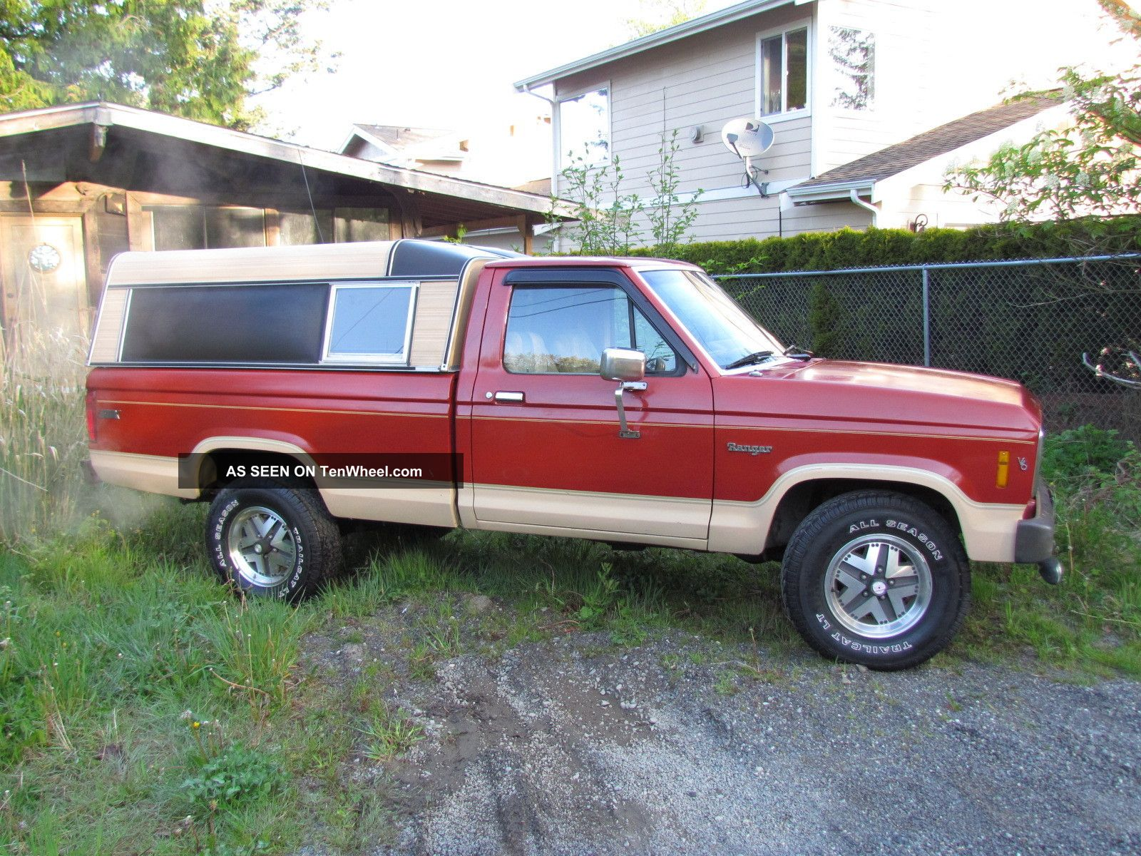 1985 Ford Ranger St X 4x4 Sporty Other Pickups photo