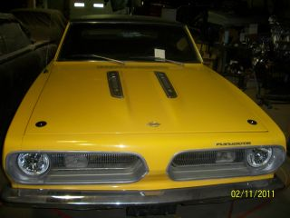1968 Plymouth Barracuda 8 Cyl Auto Solid Car Great Hemi Or 440 Project photo