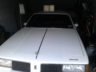1988 Oldsmobile Cutlass Supreme Custom Gt Excellent Garage Kept Condition photo