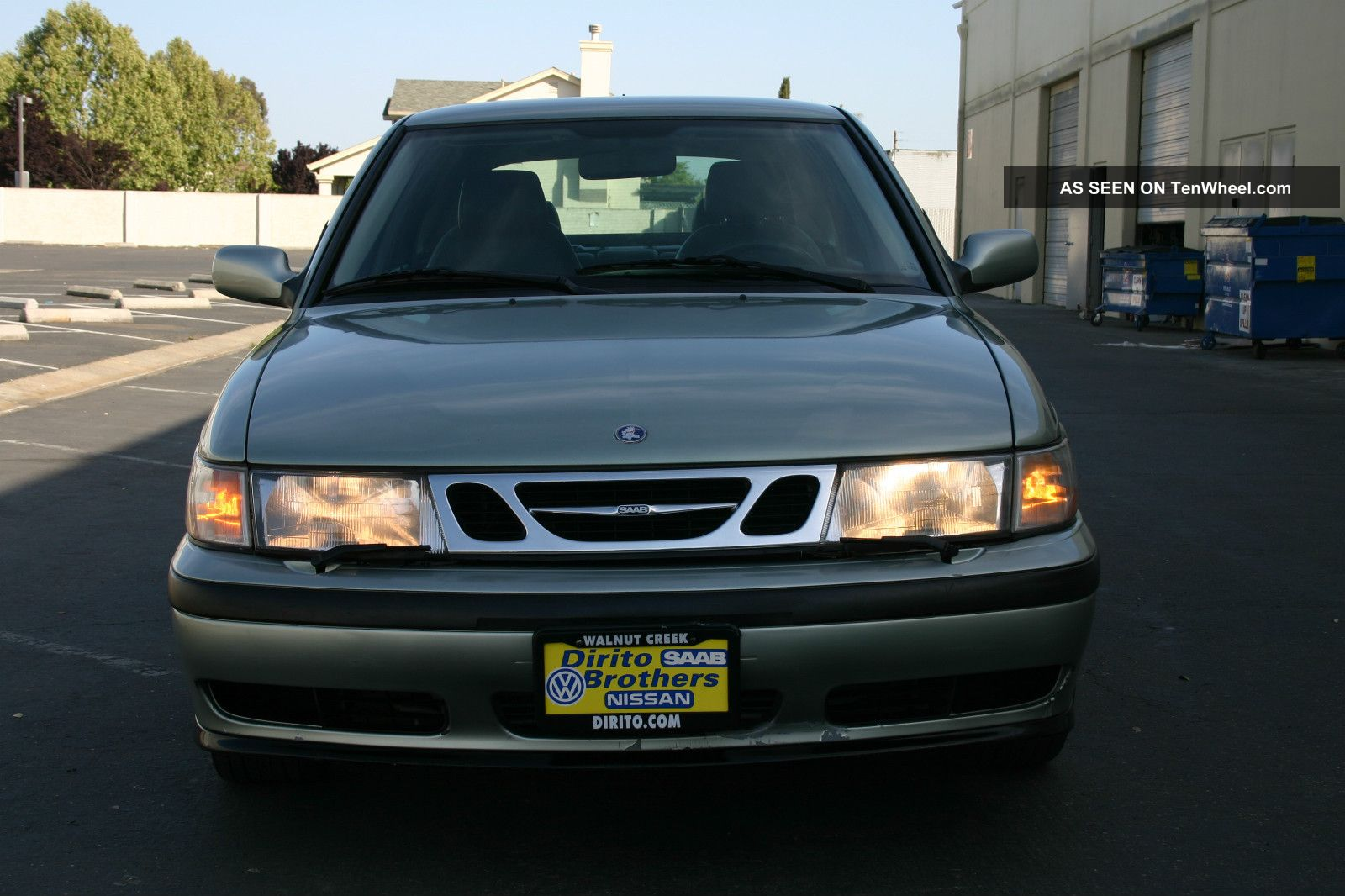 2002 Saab 9 - 3 Se Hatchback 4 - Door 2.  0l Turbocharged 9-3 photo