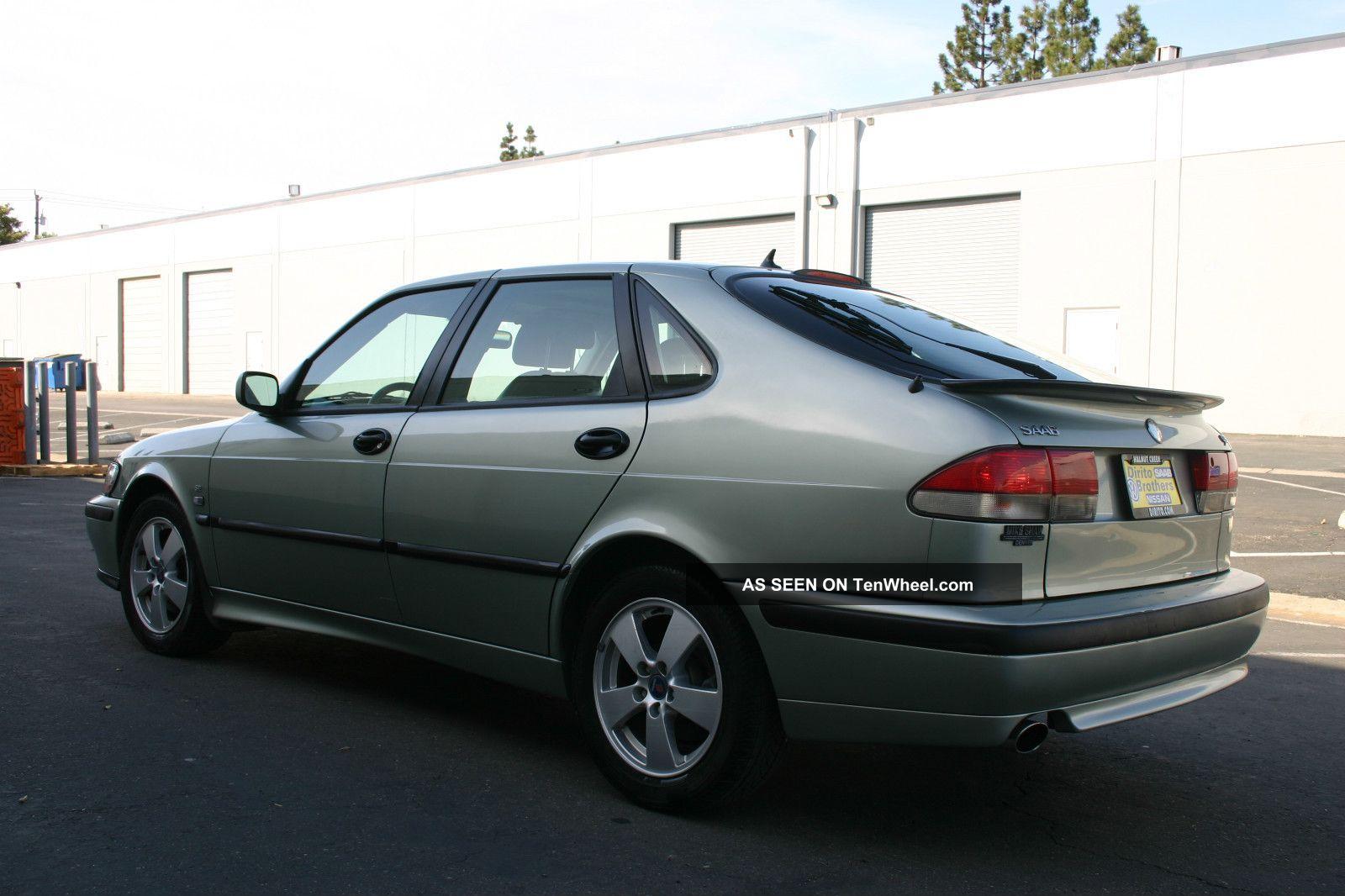 2002 saab 9 3 se hatchback 4 door 2 0l turbocharged. Black Bedroom Furniture Sets. Home Design Ideas