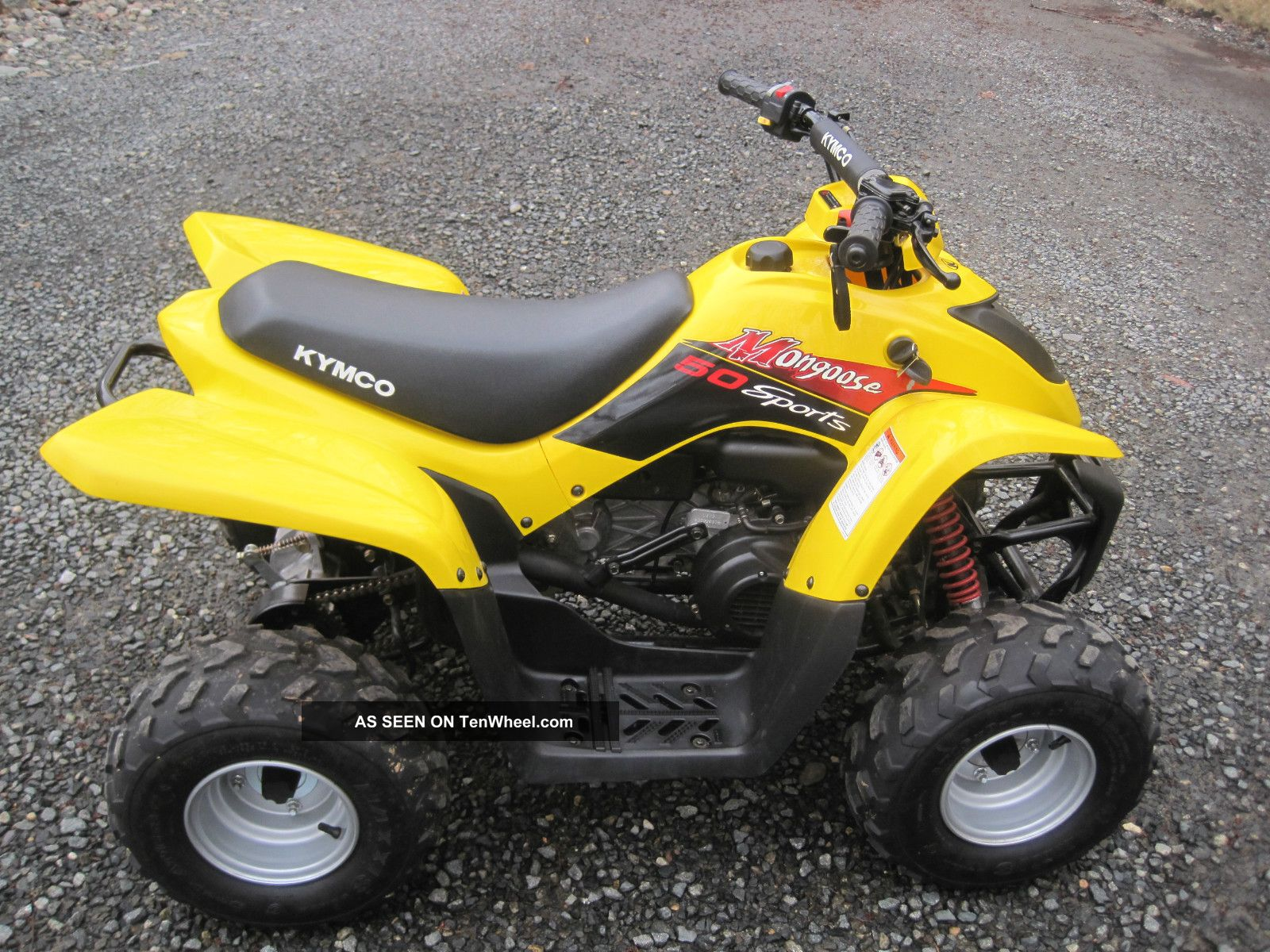 Bmw Powersports 2006 Kymco Mongoose 50 Sport Bmw R1150r