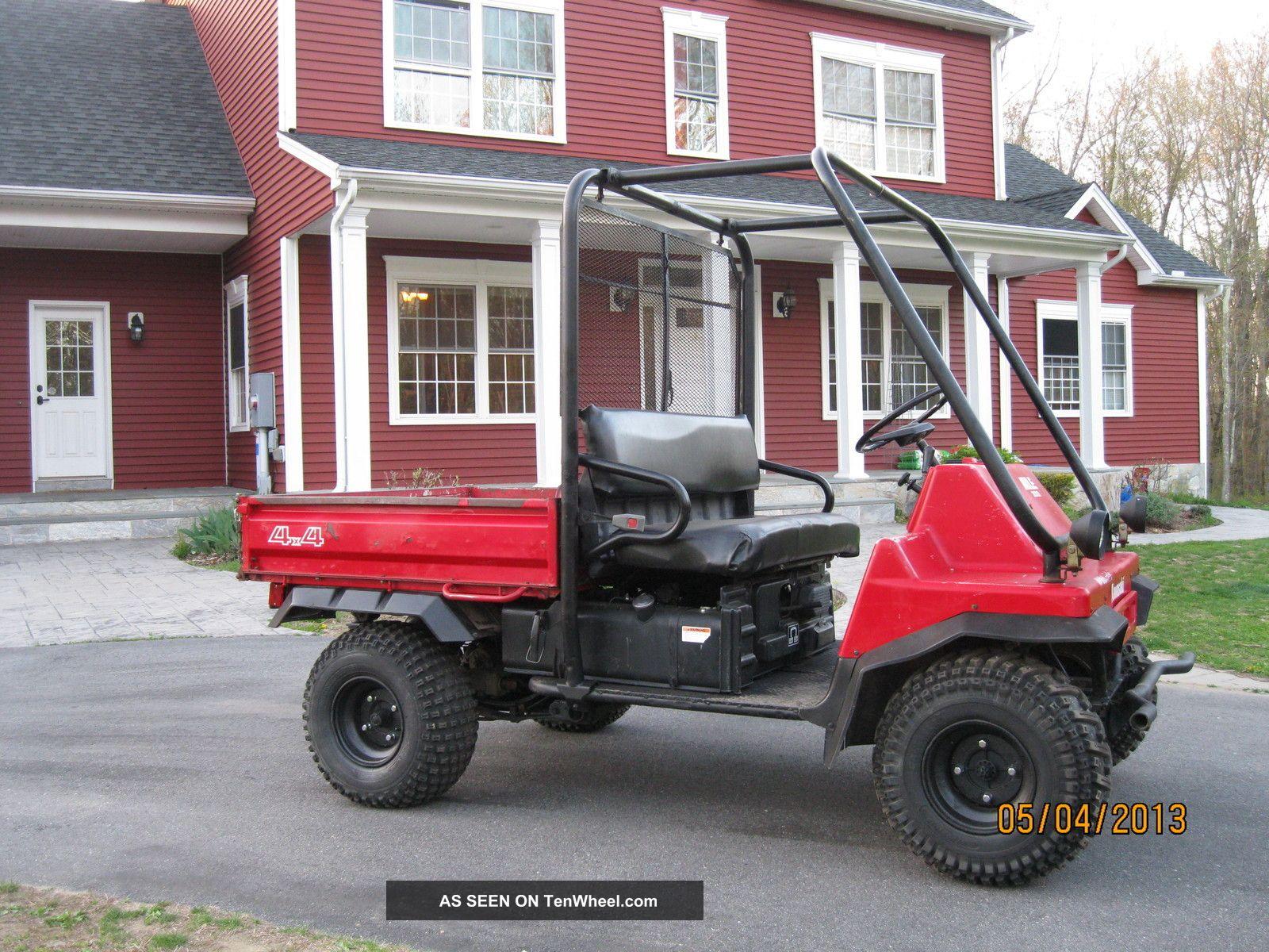 1990 Kawasaki 4x4 Mule 2010 Great Work Utv Kawasaki photo