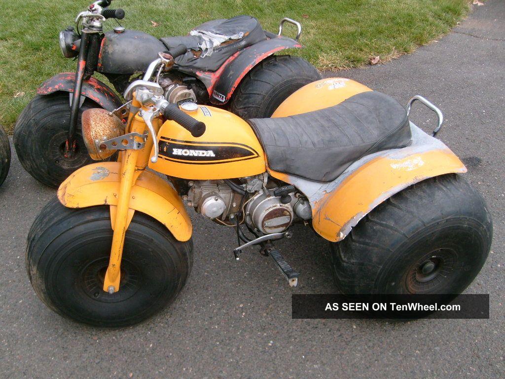 1970 Honda 1970 1972 1973 Atc 90 Us 90 Three Atcs