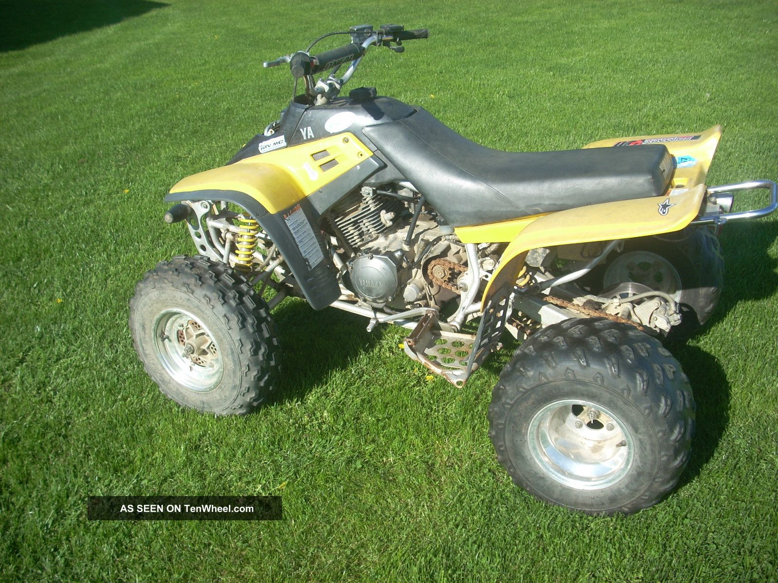 1997 yamaha warrior 350