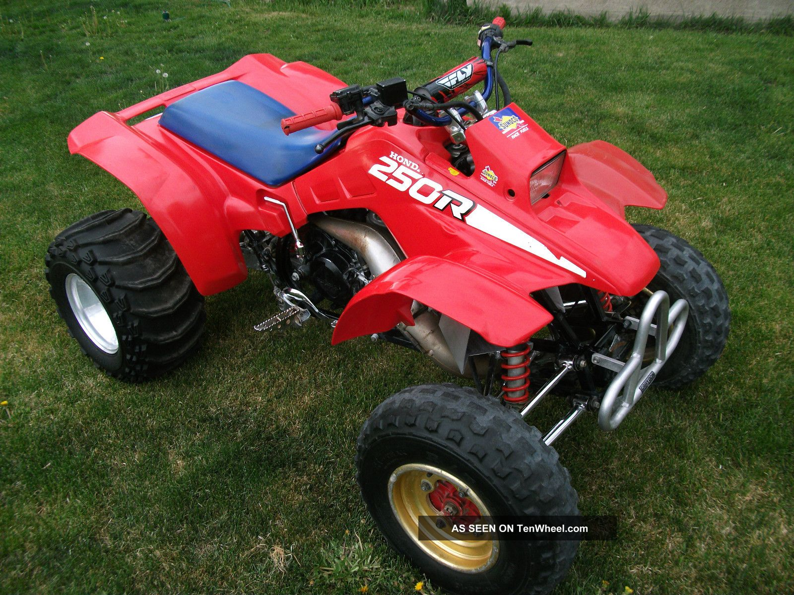 1986 Honda Trx250r Manual