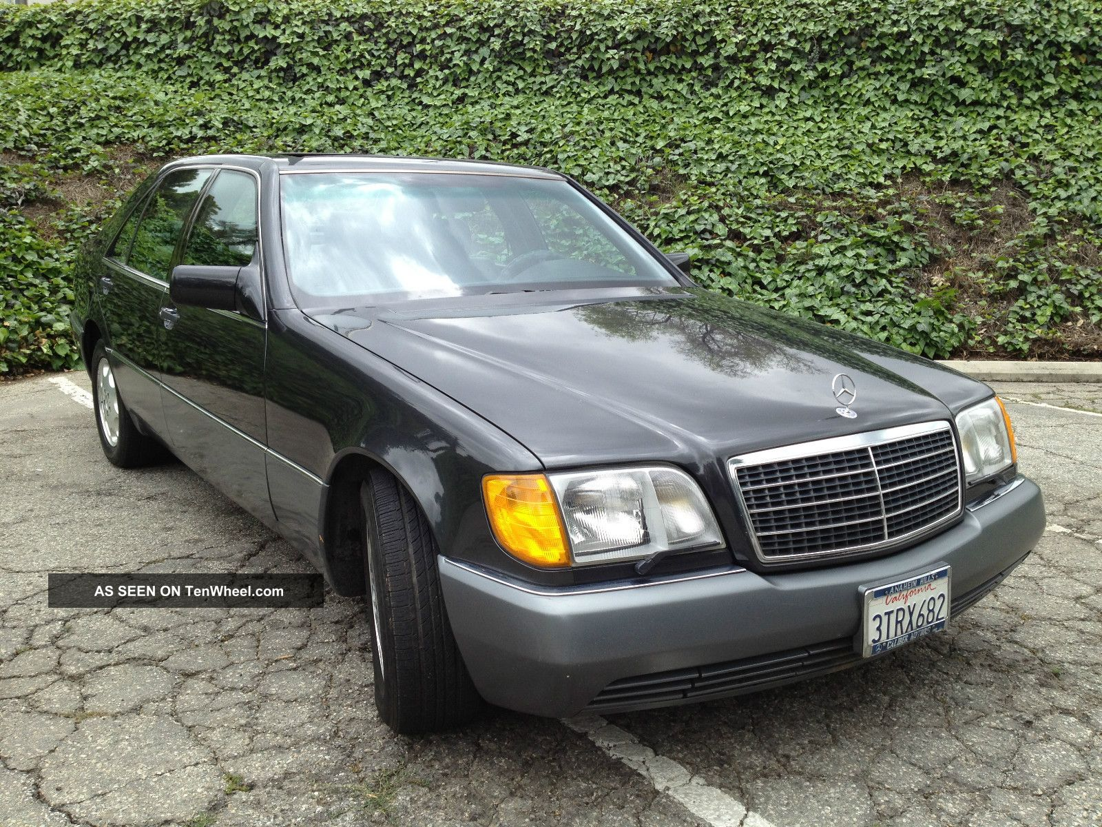 1992 mercedes benz s500 all california car for Mercedes benz all