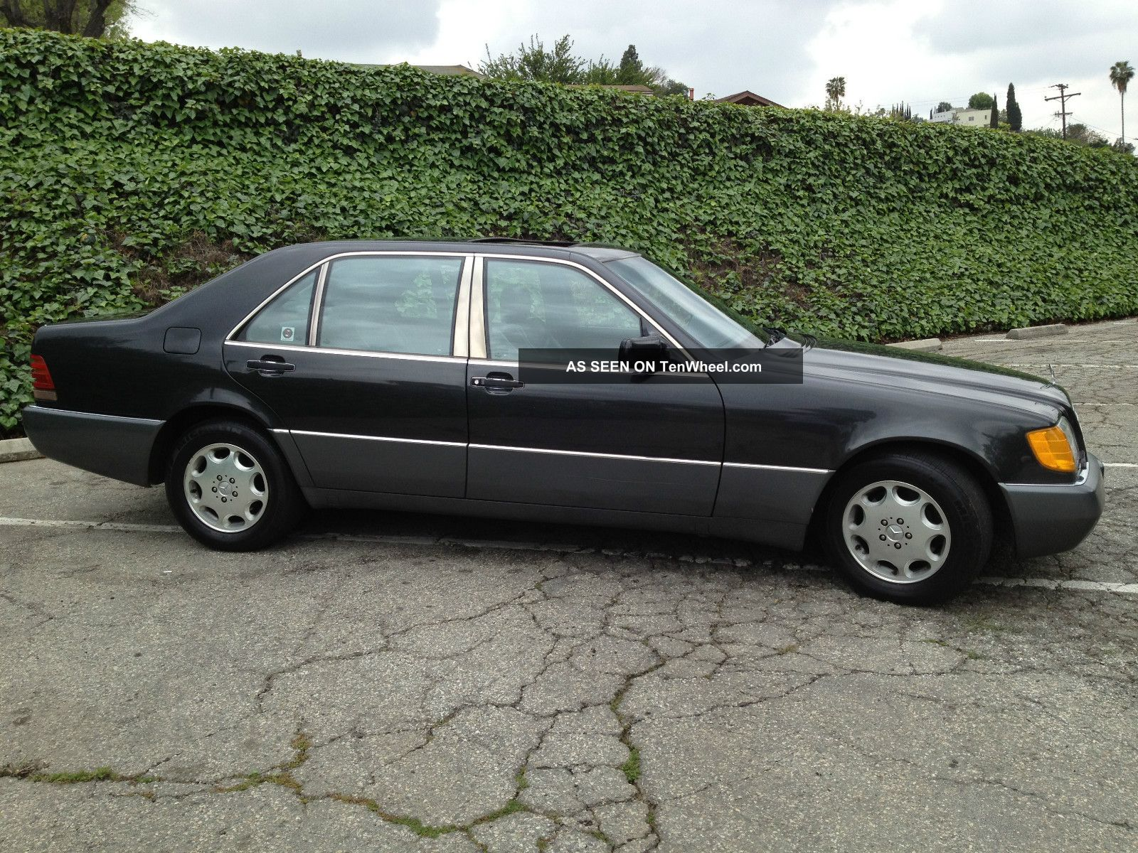 1992 mercedes benz s500 all california car