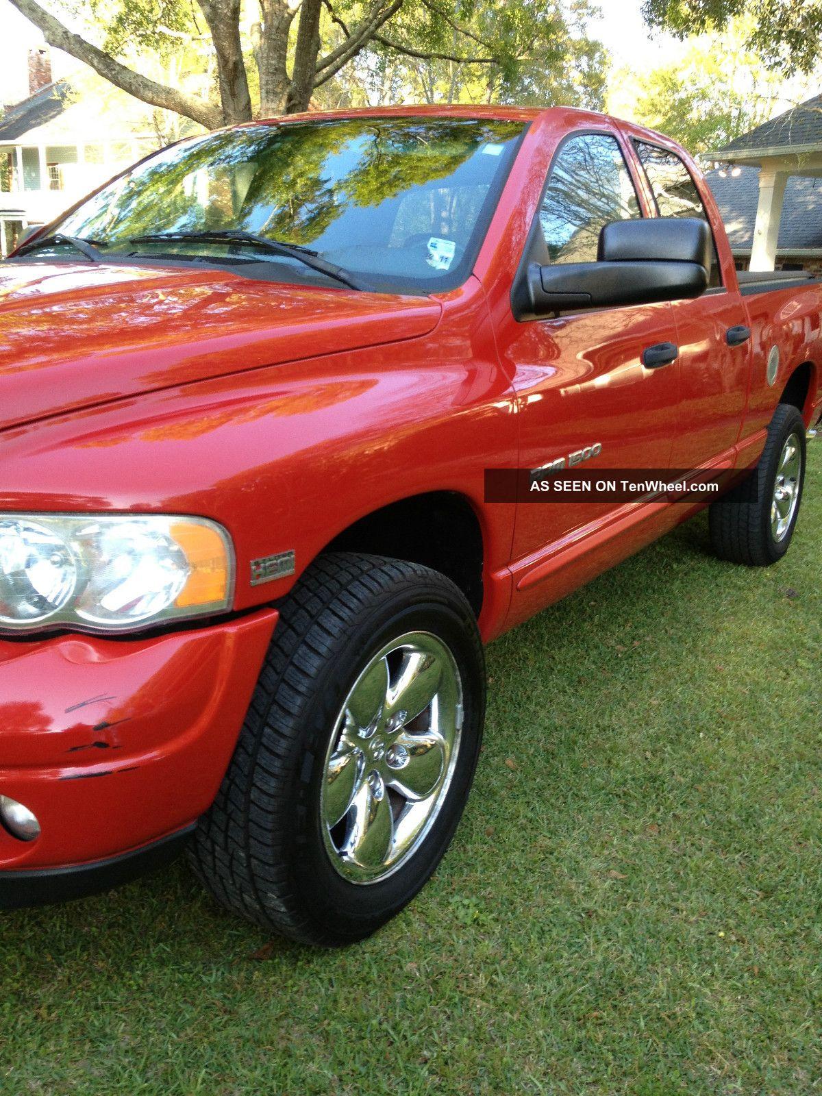 2004 Dodge Ram 1500 Sport Package,  Crew Cab 4 - Door,  V8 Hemi, Ram 1500 photo