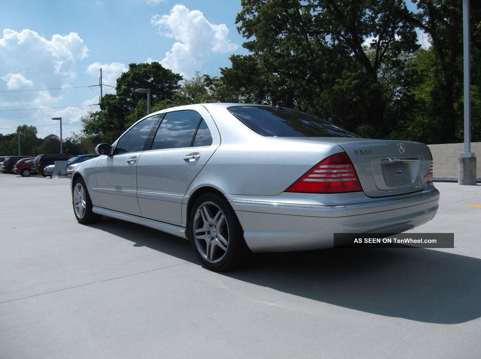 2006 Mercedes Benz S500 5 0l