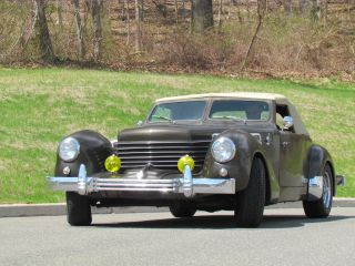 1937 Cord 812c Convertible Replica Extremely Rare - Look photo