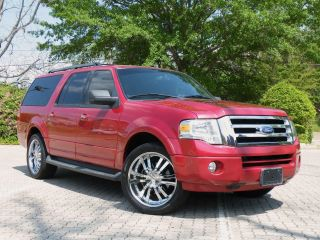 2009 Ford Expedition El Xlt 22s Tires Dvd Sharpest On Ebay photo