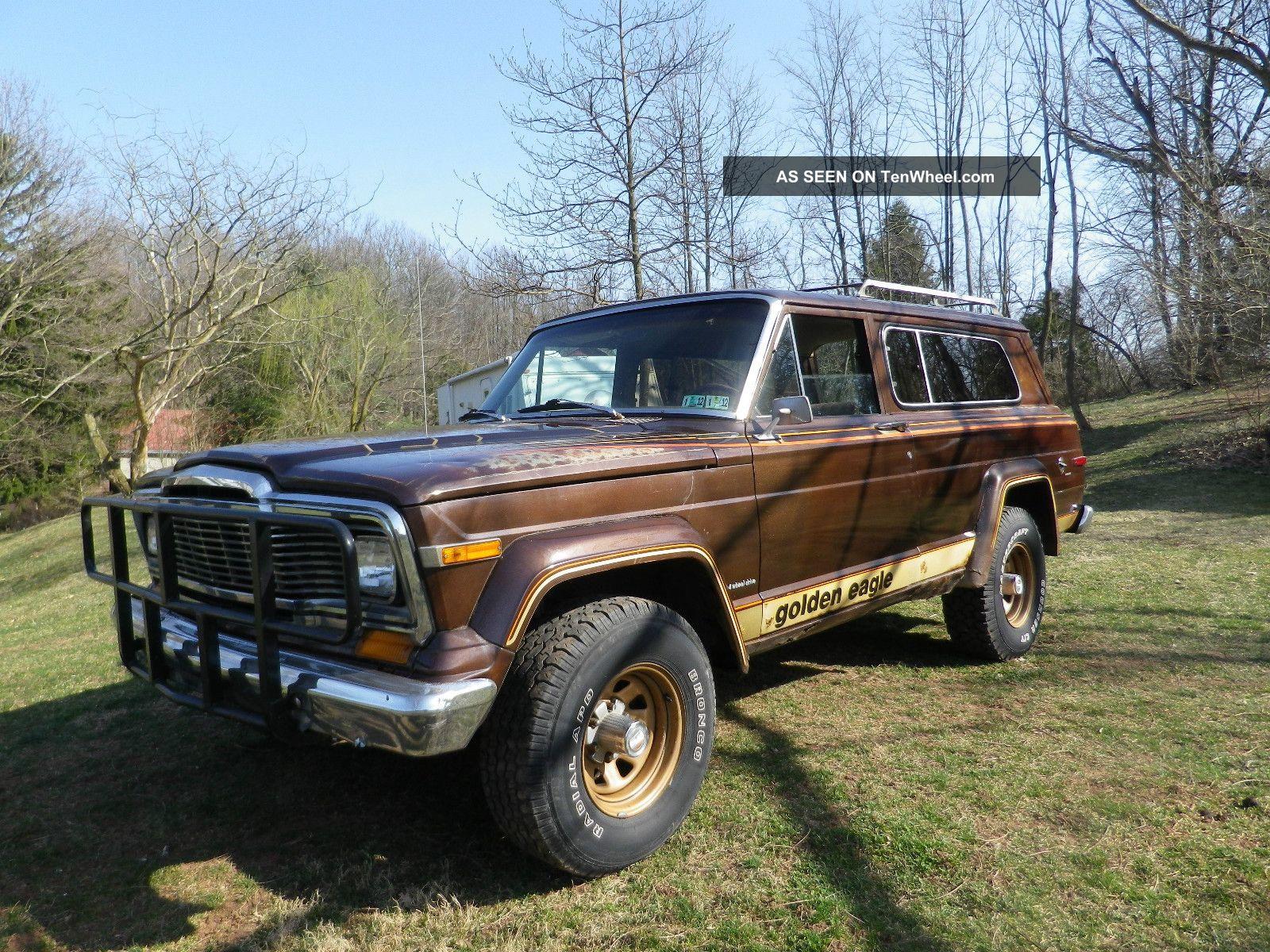 1979 Jeep Cherokee Golden Eagle Wide Track Sport Utility 2 - Door 5.  9l Cherokee photo