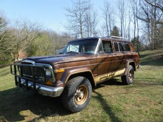 1979 Jeep Cherokee Golden Eagle Wide Track Sport Utility 2 - Door 5.  9l photo