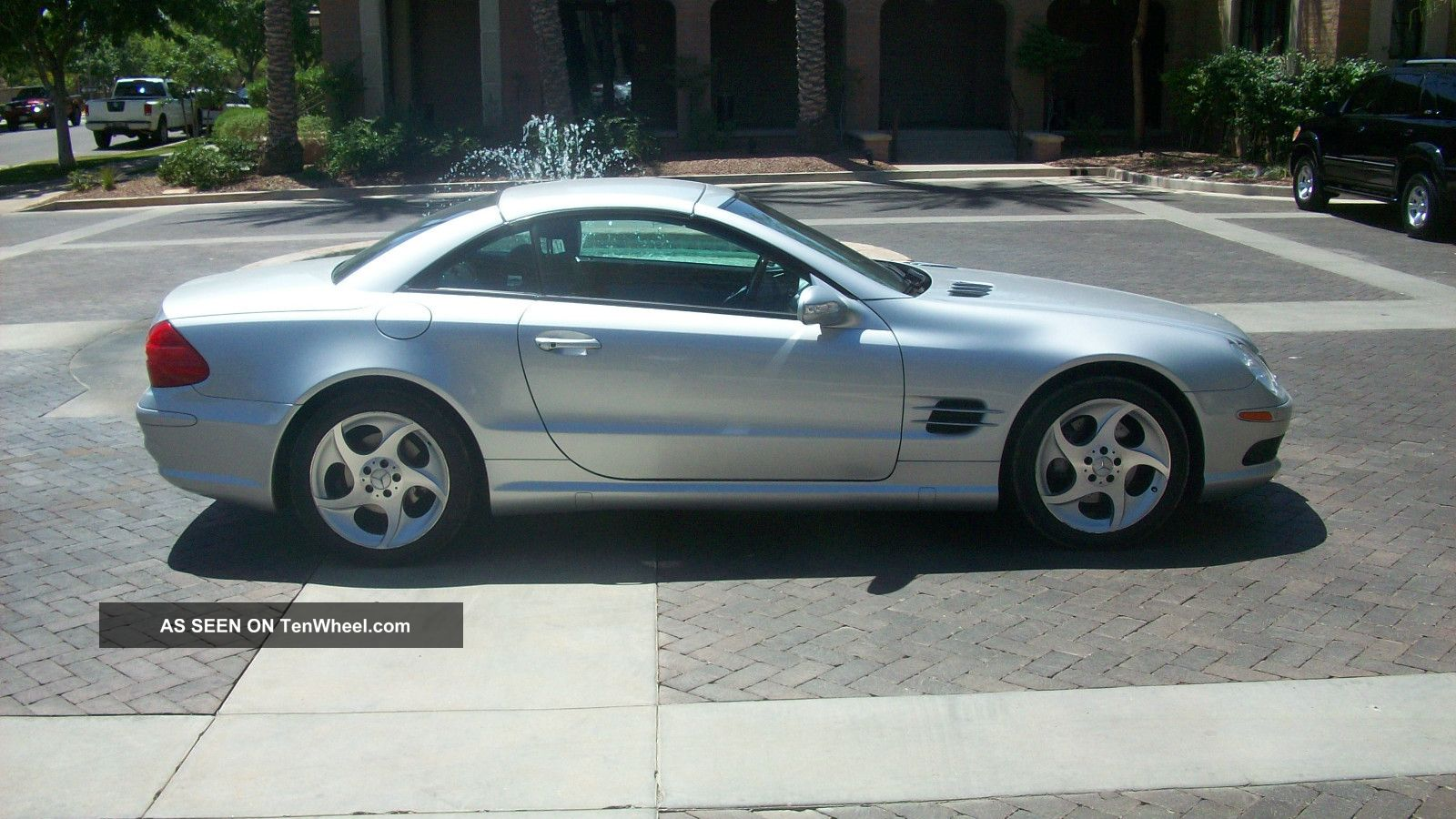 2003 mercedes benz sl 500 roadster for Mercedes benz sl 500 2003