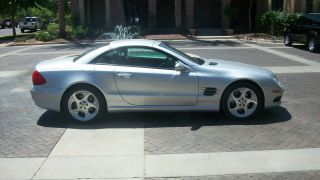 2003 Mercedes Benz Sl 500 Roadster - photo